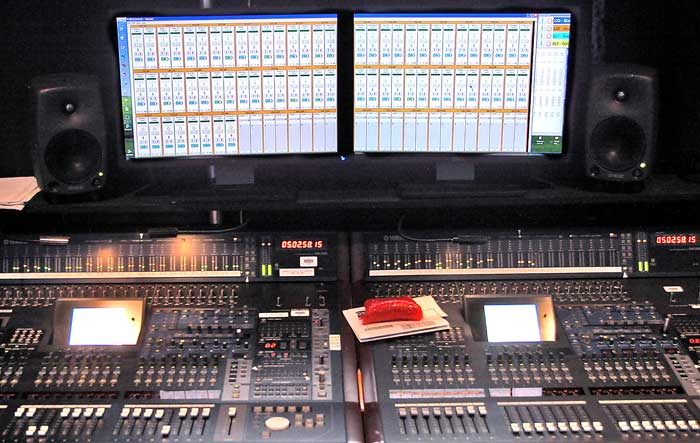 World's Largest Remote Control Audio System at New York's Radio City