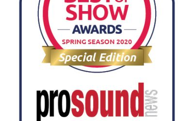 "Pro Sound News Names ""Best of Show Special Edition"" Award Winners"